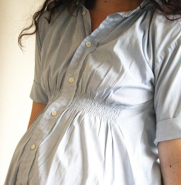 Что сшить из рубашки беременным