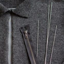 Как вставить молнию в вязаное изделие (Уроки и МК по ВЯЗАНИЮ)