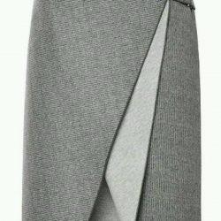 Выкройка юбки с запахом размер 36-46 (Шитье и крой)