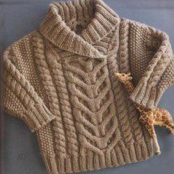 Свитер для мальчика (Вязание спицами)