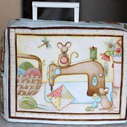 Чехол для швейной машинки с подкладкой (Шитье и крой)