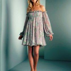 Выкройка интересного и стильного летнего платья (Шитье и крой)