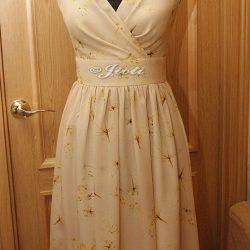 Обработка горловины на платье с запахом (Шитье и крой)