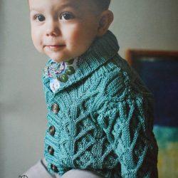Жакет для мальчика (Вязание спицами)