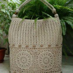 Вязаная сумка (Вязание крючком)
