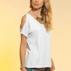 Блузка с открытыми плечами (Шитье и крой)