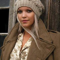 Зимняя шапка (Вязание спицами)
