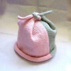 Необычная шапочка (Вязание спицами)