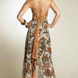 Платья из платков (Шитье и крой)