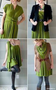 Платье трансформер своими руками (Шитье и крой)