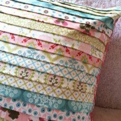 Шьем подушку в технике квилт (Квилтинг)