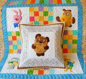 Детские одеялки. Идеи для вдохновения (Квилтинг)
