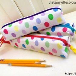 Пенал для карандашей и ручек (шитье и крой)