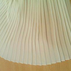 Изготовление плиссированного полотна (Шитье и крой)
