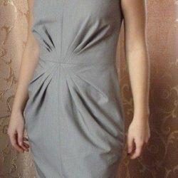Платье со складками от центра переда (Шитье и крой)