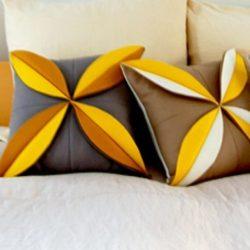 Эффектная подушка (Шитье и крой)