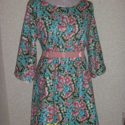 Платье без выкройки за 1 час (с двумя мерками) (Шитье и крой)