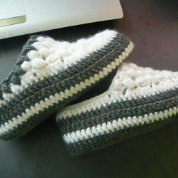 Тапочки (Вязание крючком)