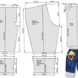 Выкройка джинсовых брюк для мальчика (Шитье и крой)