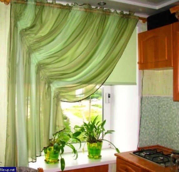 Сшить шторы домадля кухни