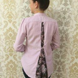 Переделка из мужской сорочки (Шитье и крой)