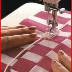 Создание ткани «из полос» (Шитье и крой)