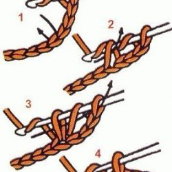 Основные виды столбиков при вязании крючком (Уроки и МК по ВЯЗАНИЮ)