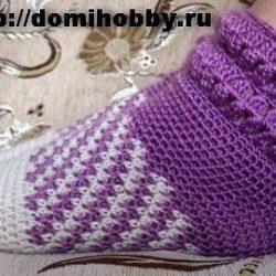 Носки крючком (Вязание крючком)