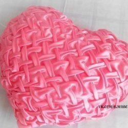 Подушка — сердечко в технике «буфы» (Шитье и крой)