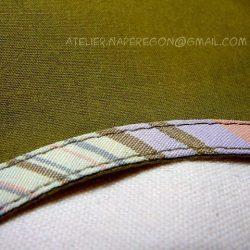 Обработка проймы косой бейкой (Шитье и крой)