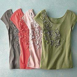 Декор футболки (Шитье и крой)