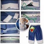 Летние брюки для мальчика своими руками 75