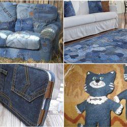 Переделки из джинсов (Шитье и крой)