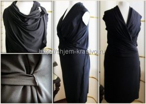 Платье — трансформер за 20 минут (Шитье и крой)