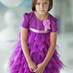 Юбочка хризантема для девочки (Шитье и крой)