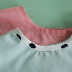 Обработка горловины косой бейкой (Шитье и крой)