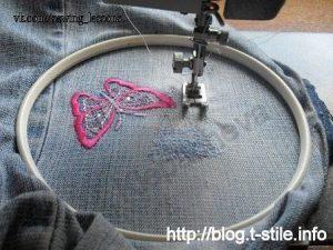 Штопка на швейной машине (Шитье и крой)