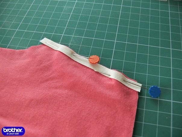 Как сшить ткань вместе 714