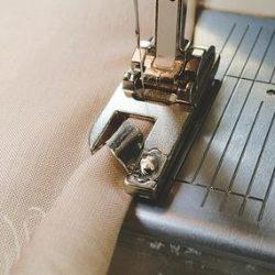 Обработка среза с помощью лапки — улитки (Шитье и крой)