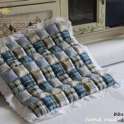 Детское одеяло или сидушка для стула (Квилтинг)