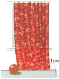 Как рассчитать расход ткани на оконные шторы (Шитье и крой)
