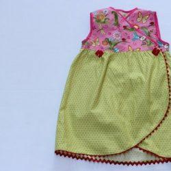 Детское платье «тюльпан». Мастер-класс (Шитье и крой)