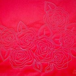 Розы — вышивка. Мастер-класс