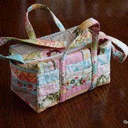 Шьем сумку в технике лоскутного шитья (Квилтинг)