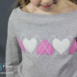 Простая и интересная идея декора детской кофточки (Шитье и крой)