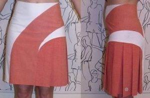 Прямая юбка с несколькими рельефами (Шитье и крой)