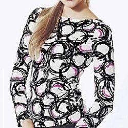 Трикотажный пуловер. 38 размер (Шитье и крой)