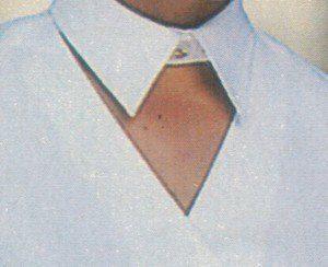 Рубашечный воротник с отлетной частью (Шитье и крой)