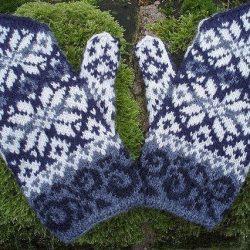 Схемы для вязания варежек (Вязание спицами)