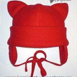 Шьем детскую шапочку из флиса с ушками (Шитье и крой)